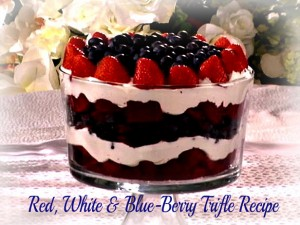 Recipe Red White Blue Trifle