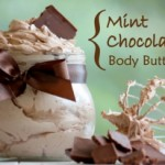 DIY Chocolate Mint Body Butter