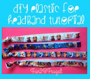 DIY Elastic FOE Headband Tutorial