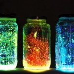 DIY Glowing Fairies in a Jar