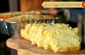 Lemon-Poppy Seed Zucchini Bread Recipe