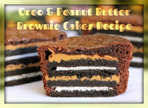 Oreo Peanut Butter Brownies