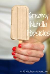 Recipe Creamy Nutella Popsicle