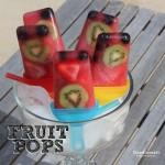 Recipe: Frozen 100% Fruit Pops