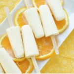 Homemade Orange Cream Pops