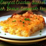 Recipe: Copycat Cracker Barrel Hash Brown Casserole