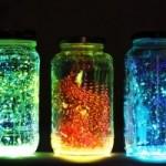 DIY Glowing Fairies in a Jar