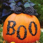 "DIY Halloween ""Preppy Pumpkin"""