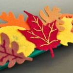Homemade No-Sew Fall Leaves Headband